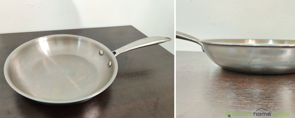 best stainless steel frying pan India