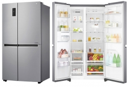LG GC B247SLUV 687 L Side by Side Refrigerator Review
