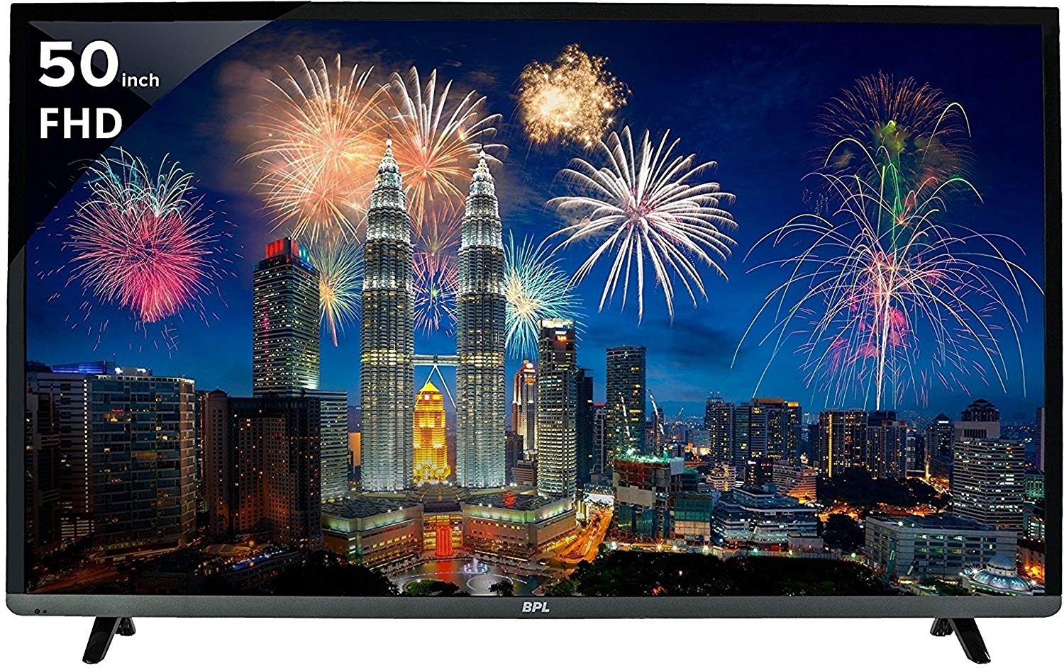 BPL 127 cm (50 inches) Vivid BPL127F2010J Full HD LED TV (Black)