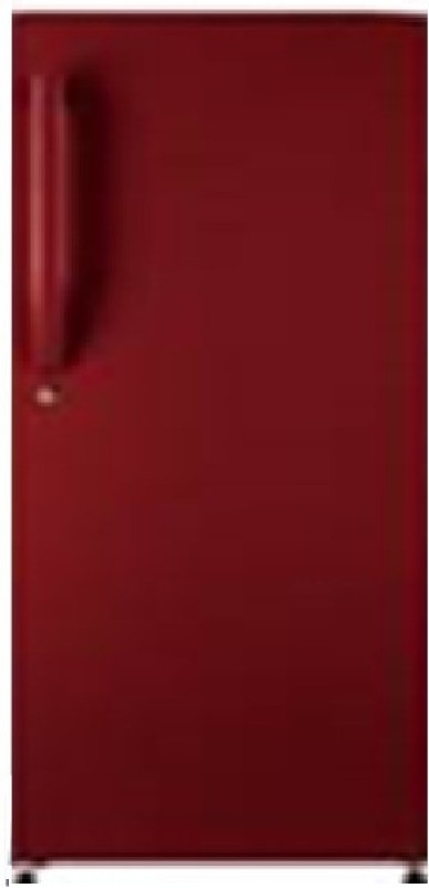 Haier 195 L 4 Star Direct-Cool Single-Door Refrigerator (HRD-1954BR, BrushLine/Burgundy Red)