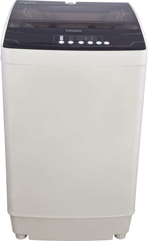 Haier 7.2 kg Fully-Automatic Top Loading Washing Machine (HWM72-718N, Grey)
