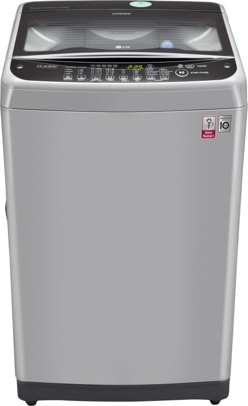 LG 10Kg Fully-Automatic Top-Load Smart Inverter Washing Machine T2077Nedl1