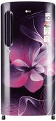 LG 190 L 4 Star Direct-Cool Single Door Refrigerator (GL-B201APDX.APDZEBN, Purple Dazzle, Inverter Compressor