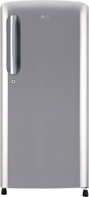 LG 190 L 4 Star Direct-Cool Single-Door Refrigerator (GL-B201APZX, Shiny Steel, Inverter Compressor)