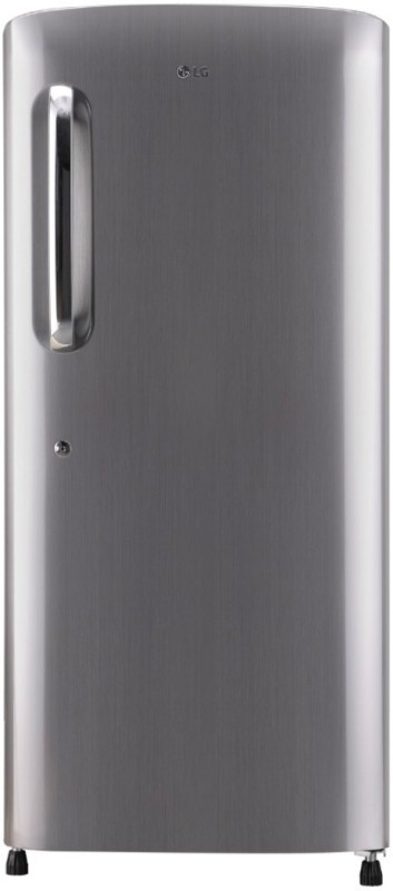 LG 215 L 4 Star Direct-Cool Single-Door Refrigerator (GL-B221APZX, Shiny Steel, Inverter Compressor)