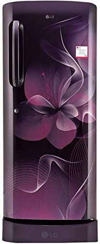 LG 235 L 4 Star Direct-Cool Single Door Refrigerator (GL-D241APDX.DPDZEBN, PurpleDazzle)