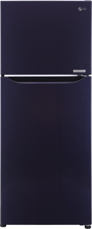 LG 260 L 3 Star Frost-Free Double-Door Refrigerator (GL-C292SCPU, Dark Purple,Inverter Compressor)