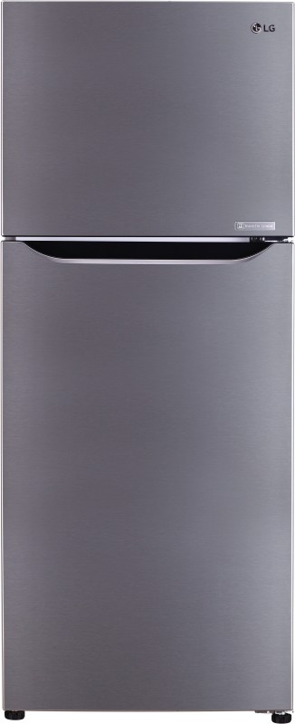 LG 260 L 3 Star Frost-Free Double-Door Refrigerator (GL-C292SPZU, Shiny Steel,Inverter Compressor)