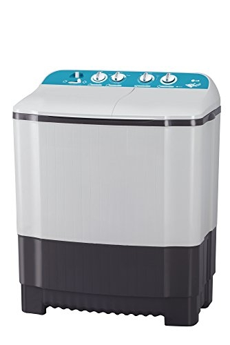 LG 6 Kg Semi-Automatic Top Loading Washing Machine (P7001R3F, Dark Grey)