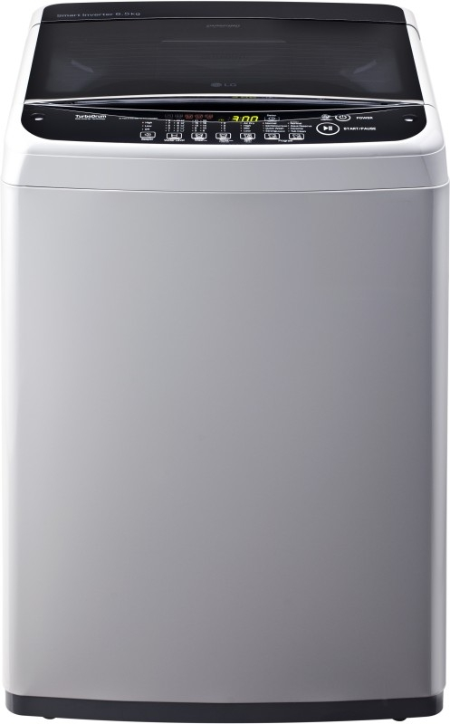 LG 6.5 kg Fully-Automatic Top Loading Washing Machine (T7581NDDLG, Middle Free Silver)