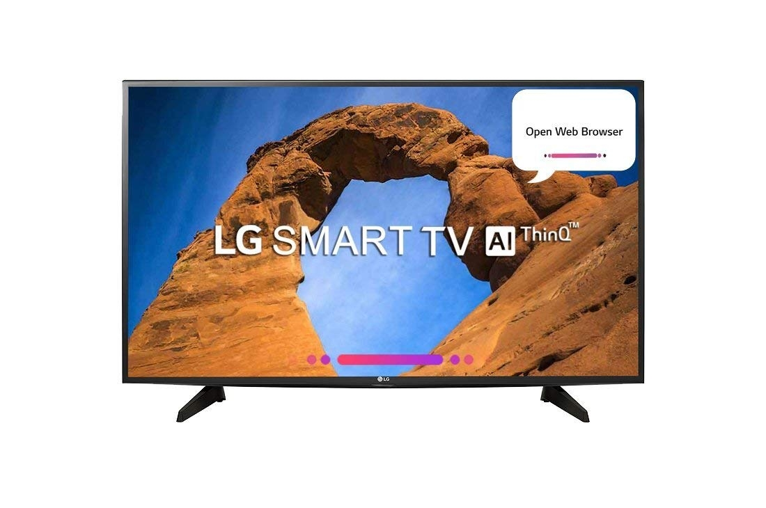 LG 81.3 cm (32 inches) 32LK628BPTF HD Ready LED Smart TV (Black)