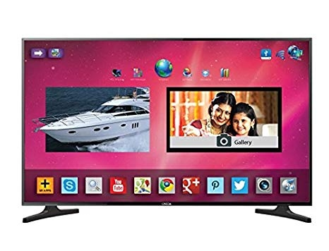 Onida 101.6 cm (40 inches) Victory Series LEO40FIAV1 Full HD LED Android Smart TV (Black)