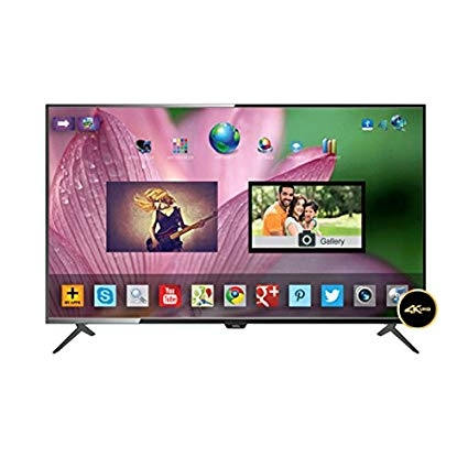 Onida 124.46 cm (50 inches) LEO50UIB 4K UHD LED Smart TV With Built-In-Wifi