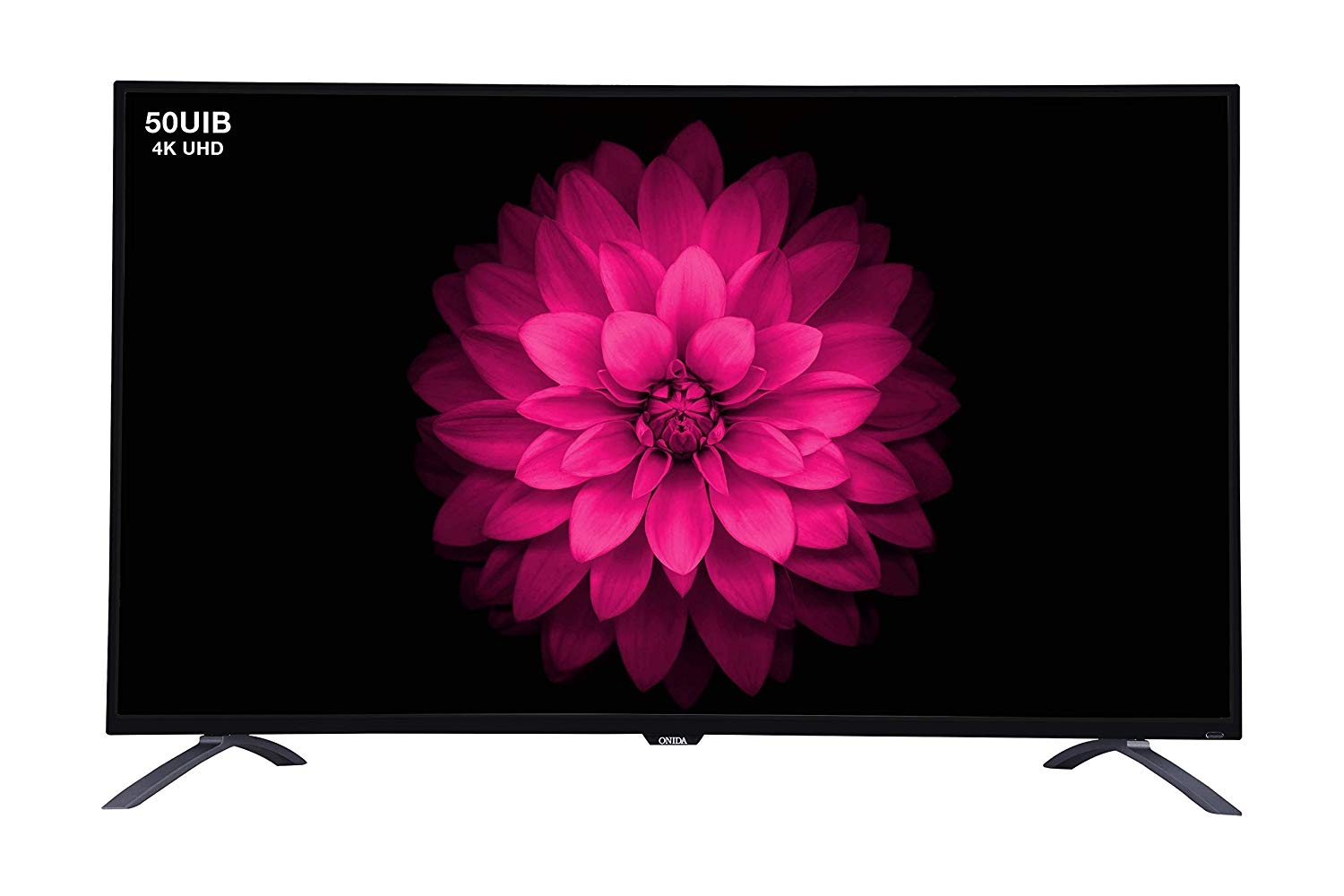Onida 124.46 cm (50 inches) Live Genius 50UIB 4K UHD LED Smart TV (Black)