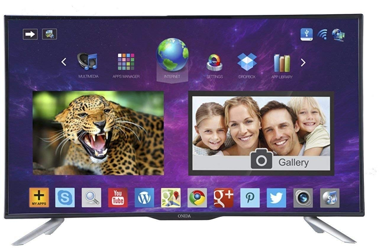 Onida 81.3 cm (32 inches) Live Genius 32HIB HD Ready LED Smart TV (Black)