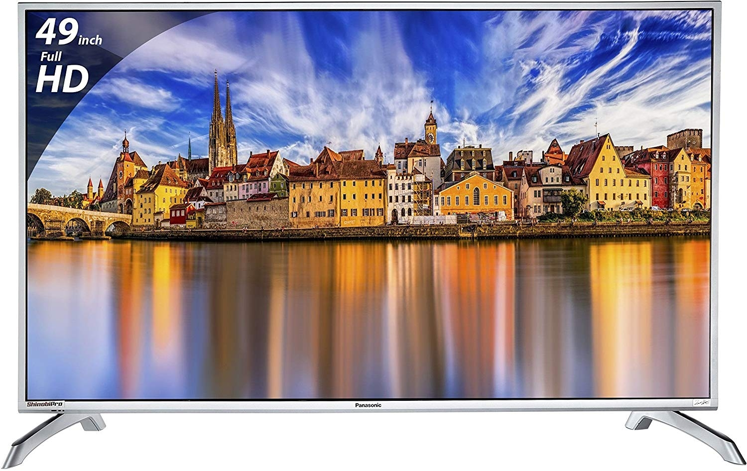 Panasonic 123 cm (49 inches) Viera Shinobi, Super Bright TH-49E460D Full HD LED TV