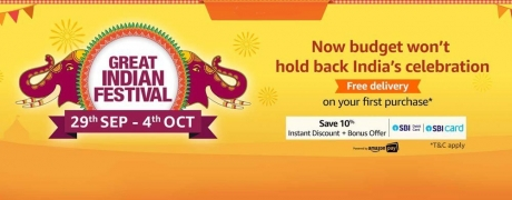 Read This To Find Maximum Discounts and Cashback on Appliances On The Amazon Great Indian Festival Sale