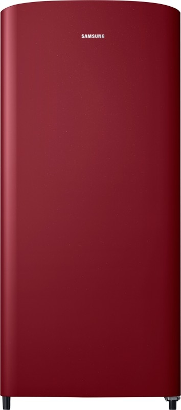 Samsung 192 L 1 Star Direct-Cool Single-Door Refrigerator (RR19M10C1RH/HL, Scarlet Red)