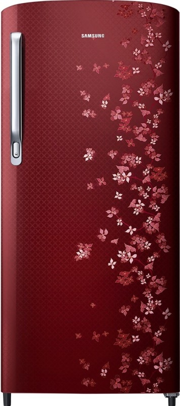 Samsung 192 L 3 Star Direct Cool Single Door Refrigerator (RR19M1723RY, Sanganeri Red)