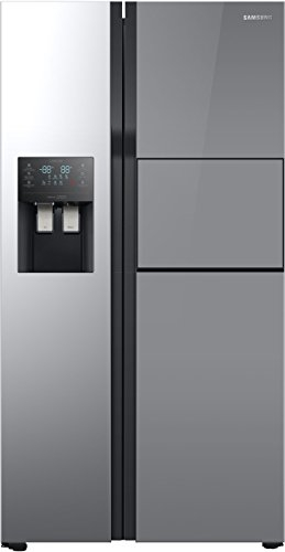 Samsung 571 L In Frost-free Side By Side Refrigerator (RS51K56H02A, Mirror Black)