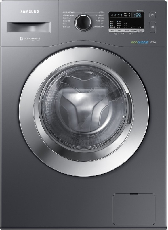 Samsung 6.5 kg Front Loading Washing Machine (WW65M224K0X/TL, Inox)