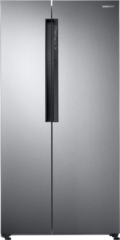 Samsung 674 L Frost-Free Side-by-Side Refrigerator (RS62K60A7SL/TL, Stainless Steel, Inverter Compressor)