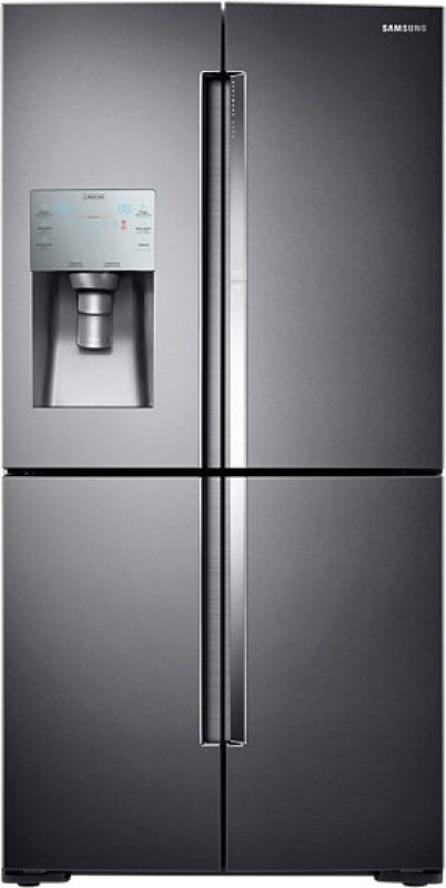 Samsung RF28K9380SG Frost-free Side-by-Side Double-door Refrigerator (826 Ltrs, Black Cavior)