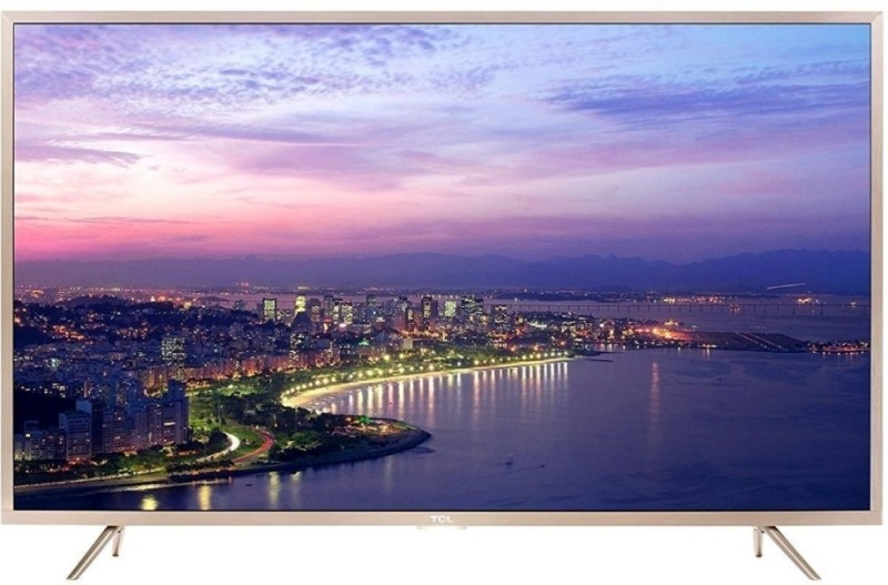 TCL 165.1 cm (65 inches) L65P2MUS Android M 4K UHD LED Smart TV (Gold)