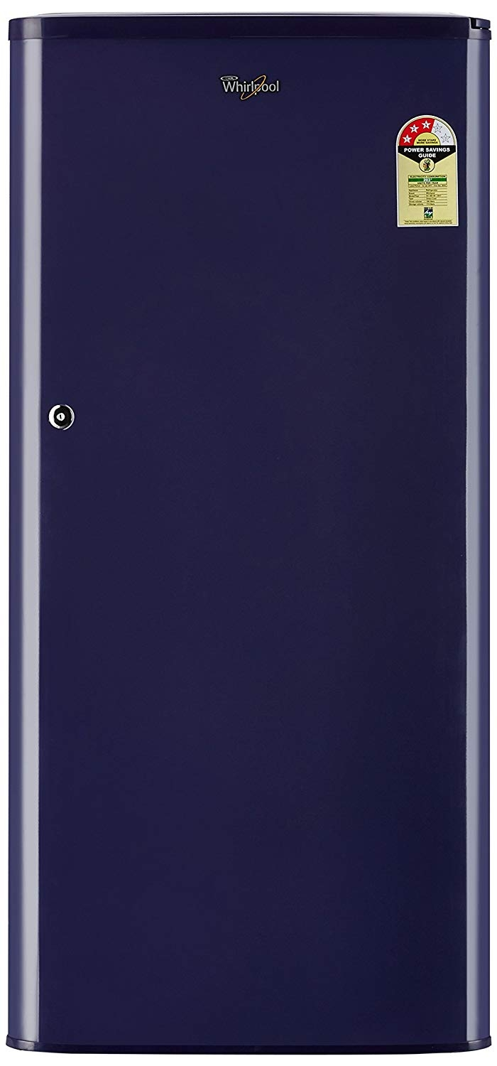 Whirlpool 190 L 3 Star Direct-Cool Single Door Refrigerator (WDE 205 CLS 3S BLUE-E, Blue)
