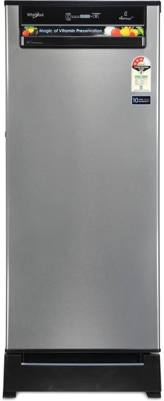 Whirlpool 200 L 3 Star Direct-Cool Single-Door Refrigerator (215 VITAMAGIC PRO ROY 3S, Alpha Steel)