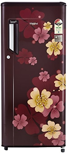 Whirlpool 200 L 3 Star Direct-Cool Single-Door Refrigerator (215 IMPowerCool PRM 3S, Wine Iris)