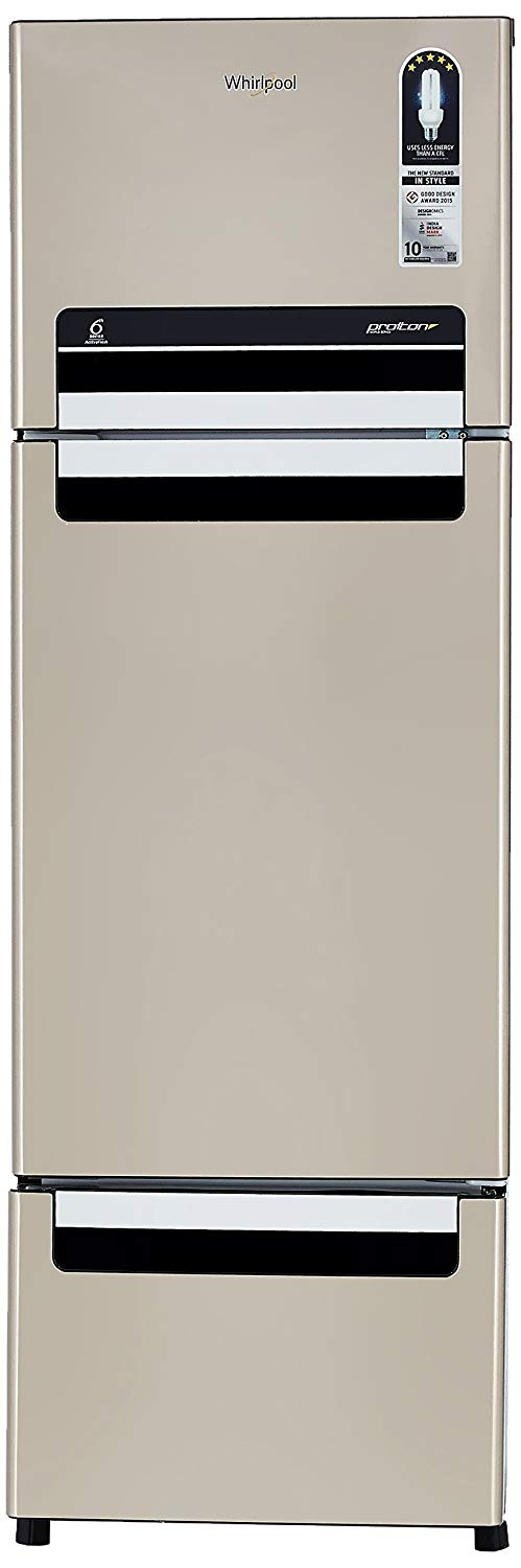 Whirlpool 240 L Frost-Free Multi-Door Refrigerator (FP 263D Protton Roy, Sunset Bronze)