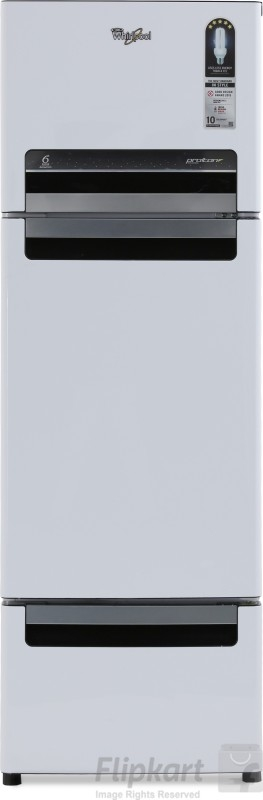 Whirlpool 260 L Frost-Free Multi-Door Refrigerator (FP 283D Protton Roy, Mirror White)