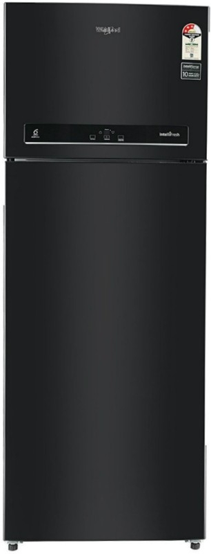 Whirlpool 500 L 3 Star Frost-Free Double-Door Refrigerator (IF 515, Caviar Black, Inverter Compressor)